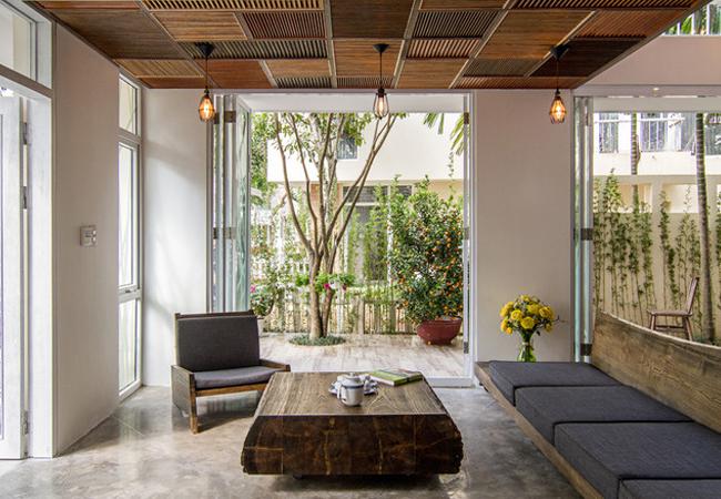 Thiết kế nhà theo phong cách thiên nhiên